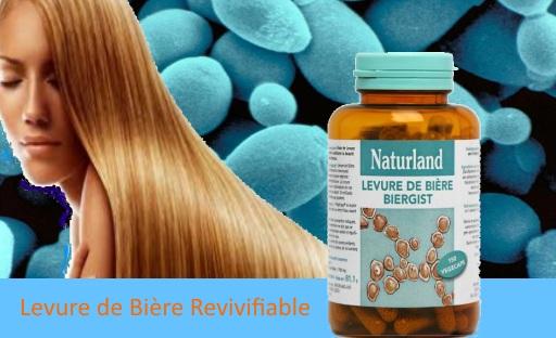 levure de biere revivifiable naturland cheveux ongles peau